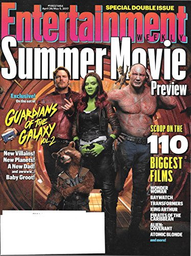 Entertainment Weekly April 28-May 5 2017 Summer Movie Preview Issue