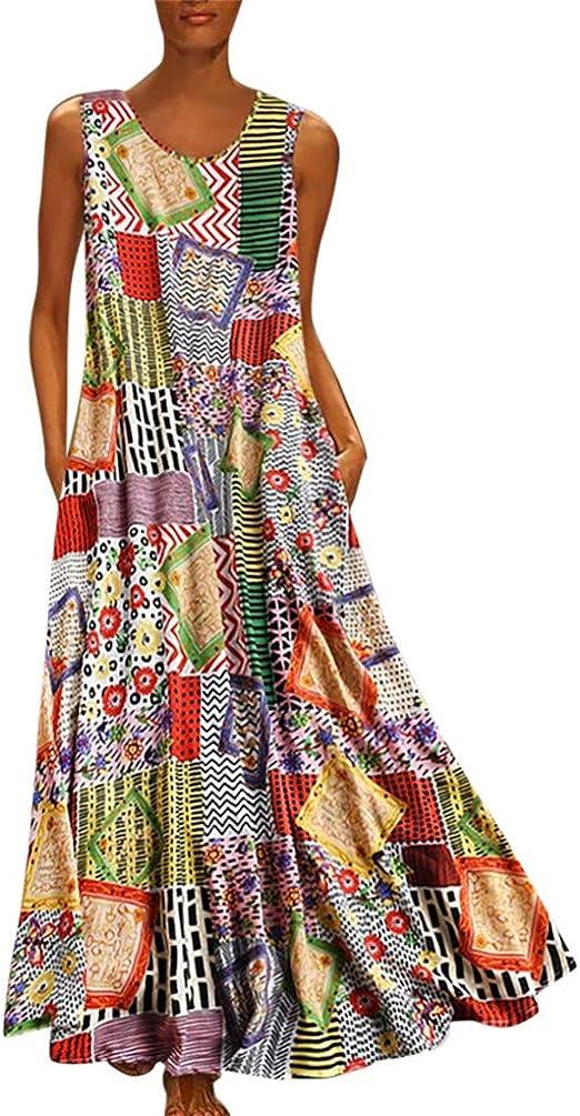 Robe Débardeur Femmes, Robe Longue Femme