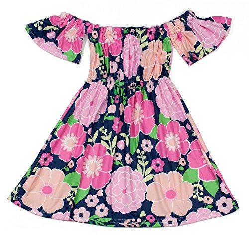 (Dress Up Dreams Boutique Wholesale Princess Girls Elastic Tube Top Sundresses (5-6,)