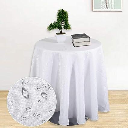 amazon com haperlare tablecloth 70 inch round waffle woven fabric rh amazon com buffet table linens buffet table tablecloths