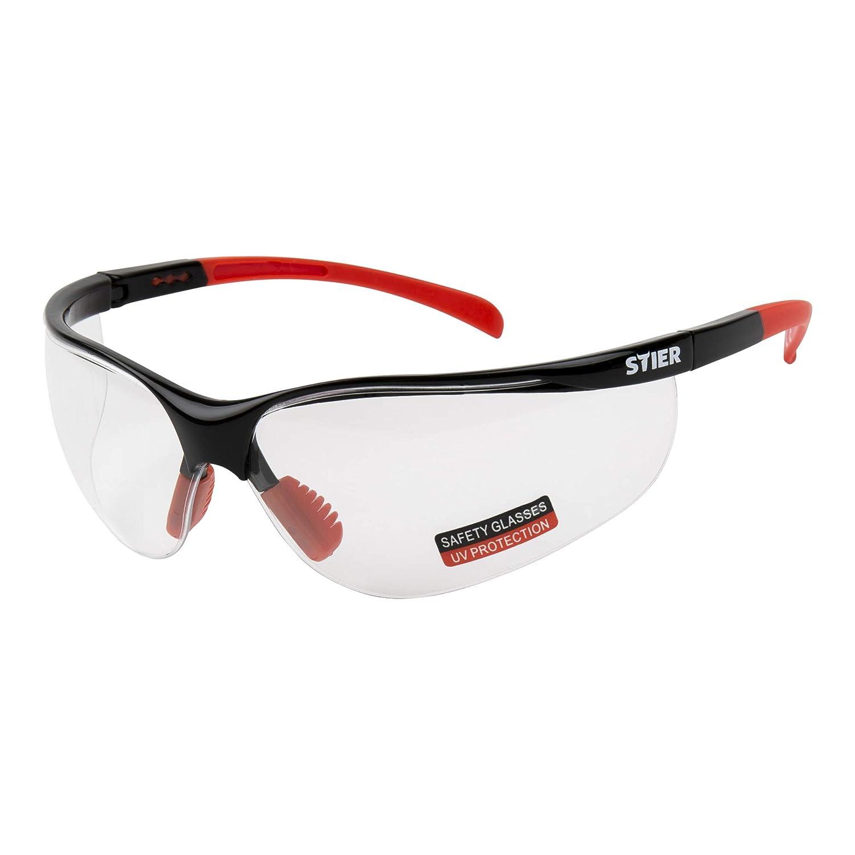 STIER Schutzbrille 3125 mit PC-Scheiben kla