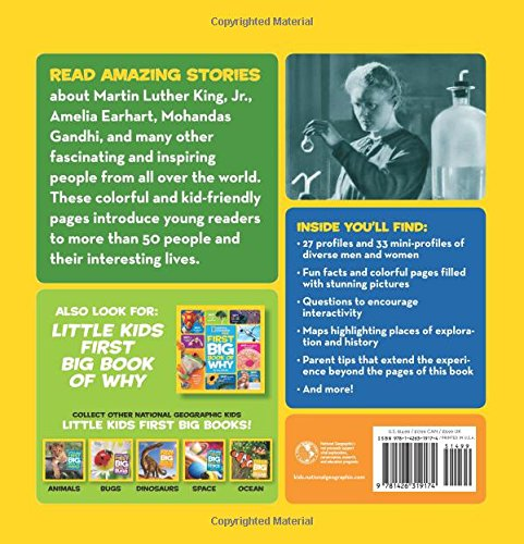 National Geographic Little Kids First Big Book of Who (National Geographic Little Kids First Big Books) by National Geographic (Image #1)