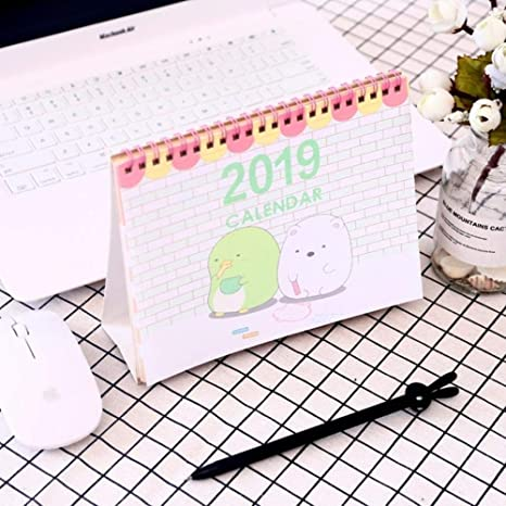 Calendrier Dessin Anime.Calendrier De Bureau 2018 2019 Avec Dessin Anime De Sumikko