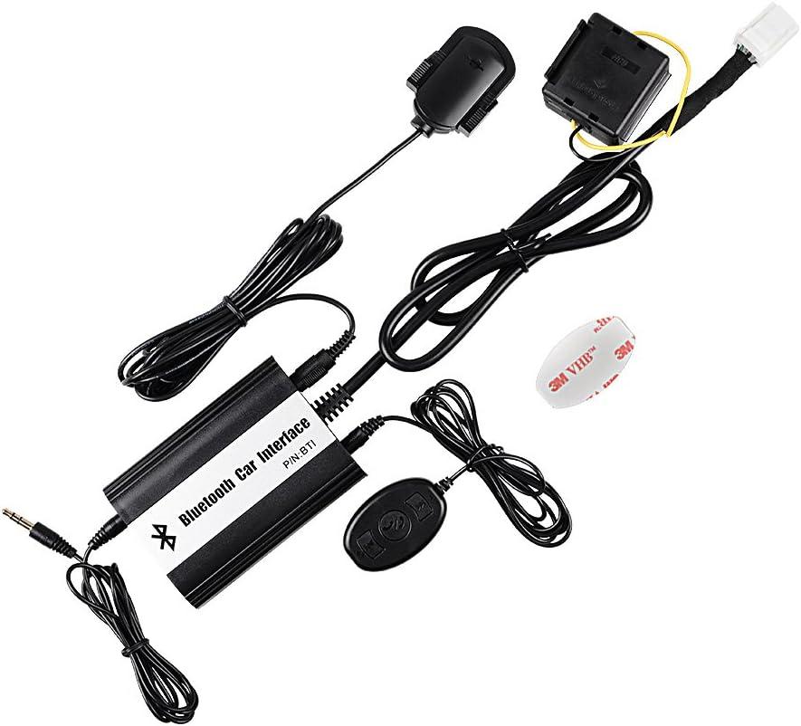Cable y adaptador adecuado para mazda 8+8 pin cambiador CD mp3 radio de distribución