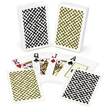 Copag Class Modern 100-Percent Plastic Playing Cards, Bridge Size, Jumbo Index
