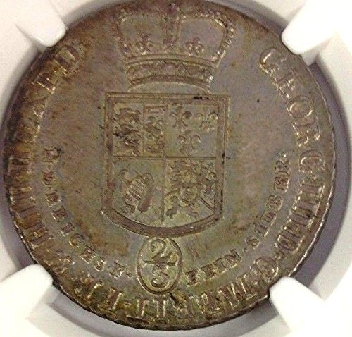 1798 DE Germany 1798 Silver 2/3 Thalers 24 Mariengroschen coin MS 62 NGC