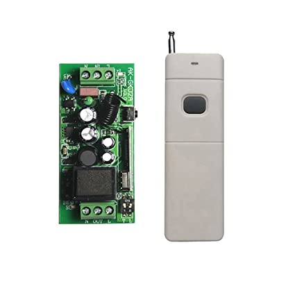 Lejin 110V 220 AVC 1 channel RF radio remote control switch