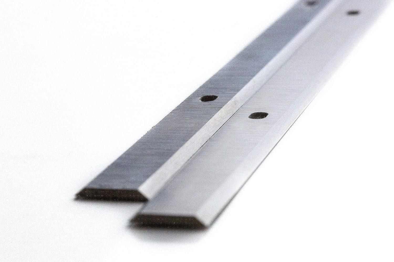Scheppach PLM1800 Cuchilla de repuesto para cepillo de carpintero 2 unidades, 18/% HSS