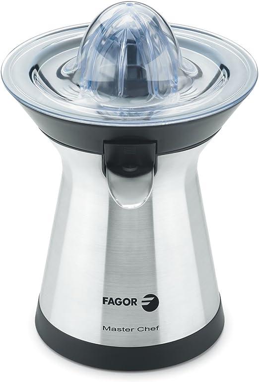 Fagor - Exprimidor Mz2006X, 100W, Vertido Directo, 2 Conos. Inox ...
