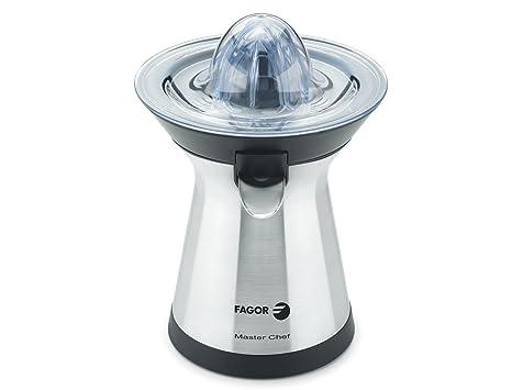 Fagor - Exprimidor Mz2006X, 100W, Vertido Directo, 2 Conos. Inox.