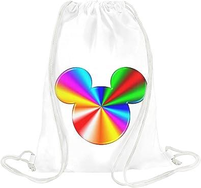 b5c99d02f60 rainbow mickey mouse Drawstring bag  Amazon.co.uk  Shoes   Bags