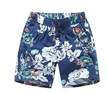 Adult Men Loose Large Size Quick-Drying Beach Pants hot Spring Swimming  Trunks Summer Seaside fdb90cfc5988