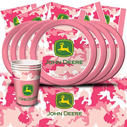 Girls-John-Deere-Birthday-Party-Pink-Camo-Decoration-Pack-Kit-For-8