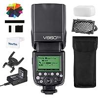 Godox V860IIN TTL Li-ion Camera Flash HSS 1/8000s Built-in Godox 2.4G Wireless X System GN60 Nikon DSLR Cameras