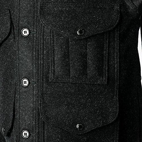 Filson10044 Extra Long Wool Mackinaw Cruiser (42, Charcoal) ()
