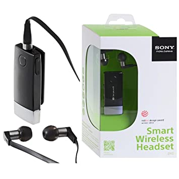 457dc68f76e New Shop Sony MW1 Lite Smart Wireless Bluetooth Headset Pro FM Radio MP3  Player Caller ID: Amazon.ca: Electronics