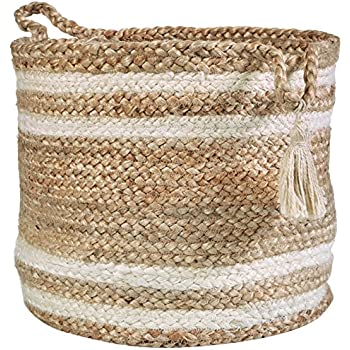Amazon.com: LR hogar Montego decorativo cesta de ...