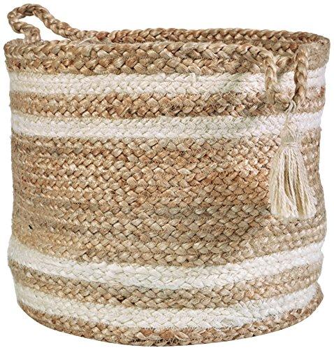 - LR Home Montego Decorative Storage Basket, 19