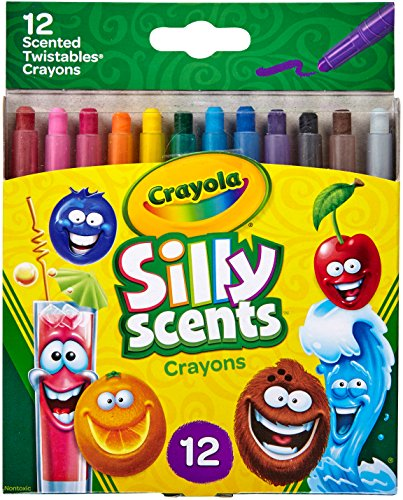 Crayola Silly Scents Twistables Crayons, Sweet Scented Crayons, 12 Count from Crayola
