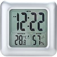 Anself - LCD Reloj con Medidor de Temperatura