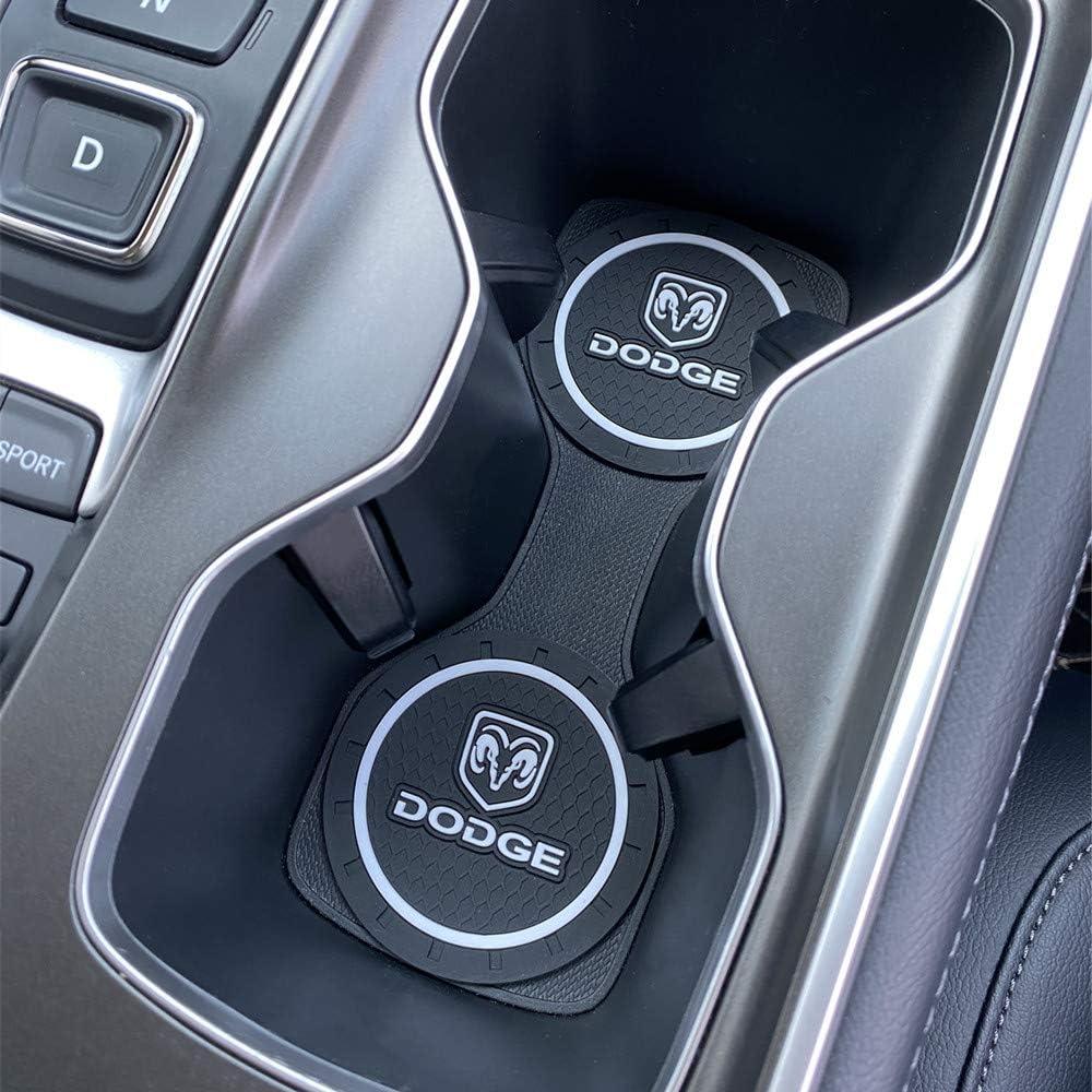 A5 A7 Shenhuan Upgraded 2 Pcs 2.75 inch Car Interior Accessories Anti Slip Cup Holder Mat Insert Coaster for Audi A4 A6 TT etc All Models Q7 Q8,R8 for Audi Q5 Q3 fit for A3