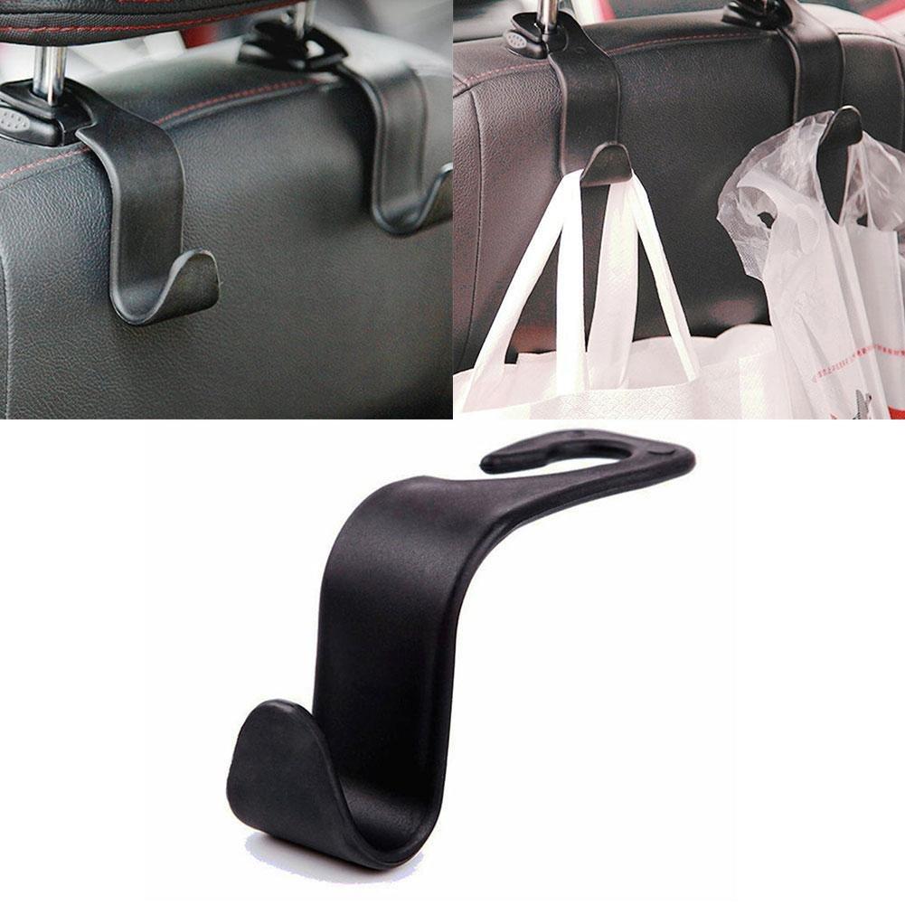 ZHUOTOP Convenient Universal Car Back Seat Headrest Hanger Storage Hooks For Groceries Bag Handbag