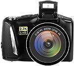 Digital Camera Vlogging Camera for YouTube, 48MP 2.7K UHD 3.0 Inch