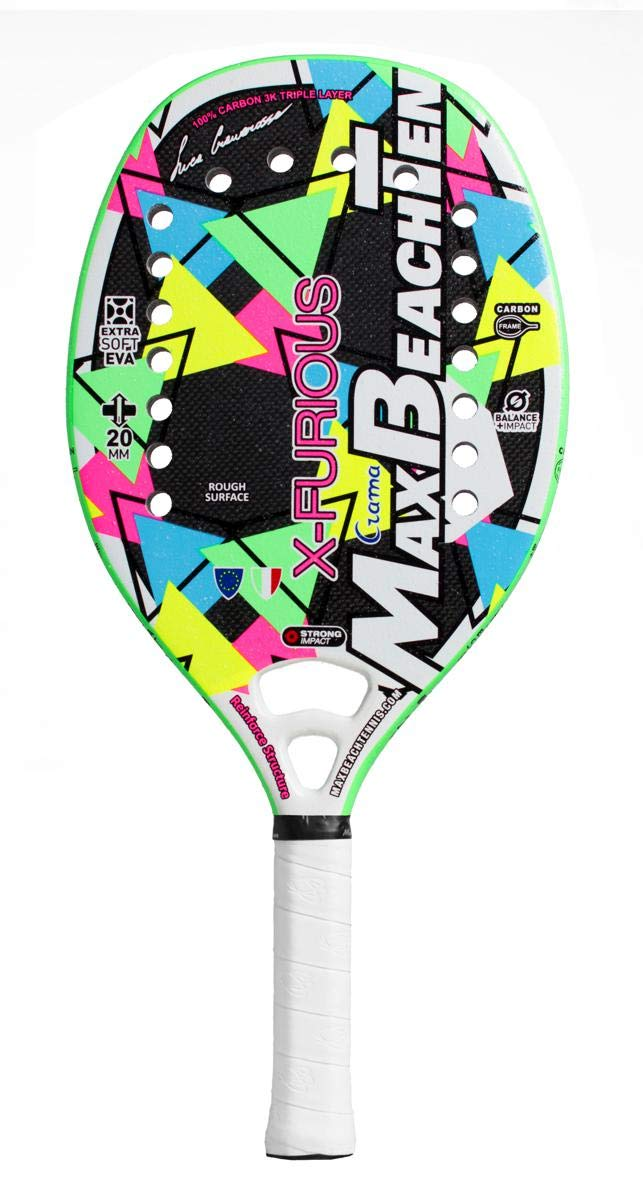 Pala de Tenis Playa MBT X-FURIOUS 2019: Amazon.es: Deportes y aire ...