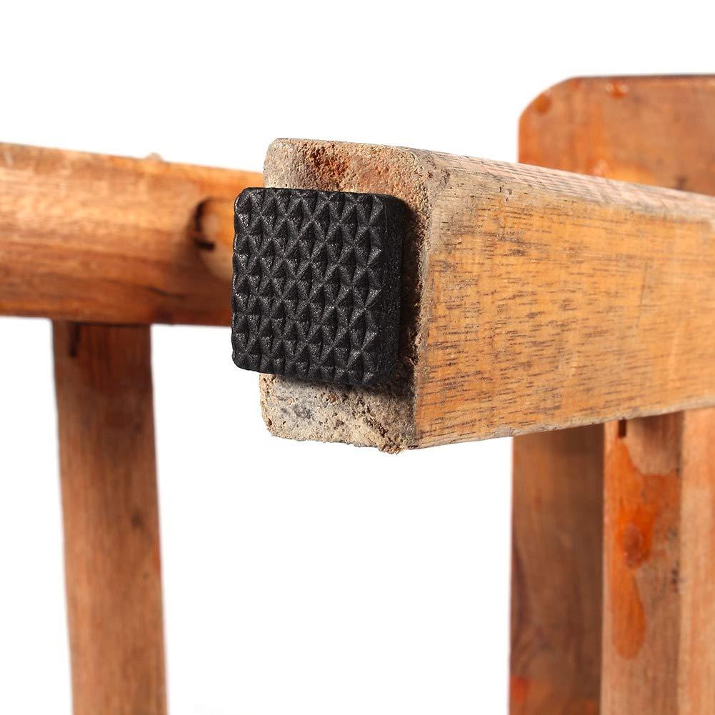 Selbstklebende Polster f/ür M/öbelf/ü/ße f/ür M/öbel Tisch Sofa Rutschfester Self Floor Protector Gummi-Pads Stuhl 48Pcs Schwarzes TRP Gummif/ü/ße Holzboden