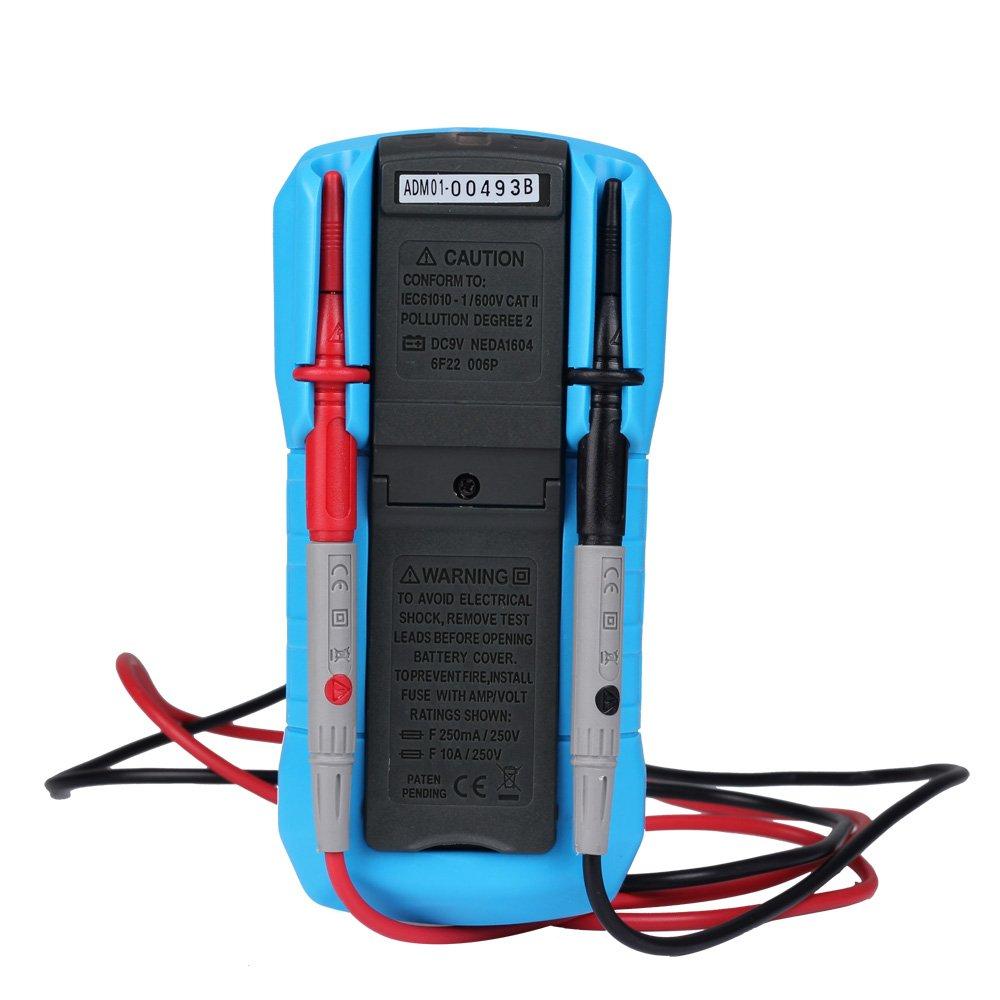 Amazon com innova 3320 auto ranging digital multimeter automotive - Bside Adm02 Auto Ranging Digital Multimeter Dmm Dc Ac Voltage Current Temp Meter Tester Amazon Com