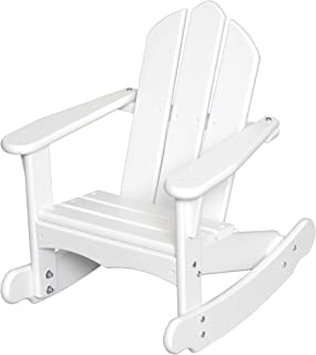 product image for Little Colorado 141SW White Kid's Adirondack Rocker