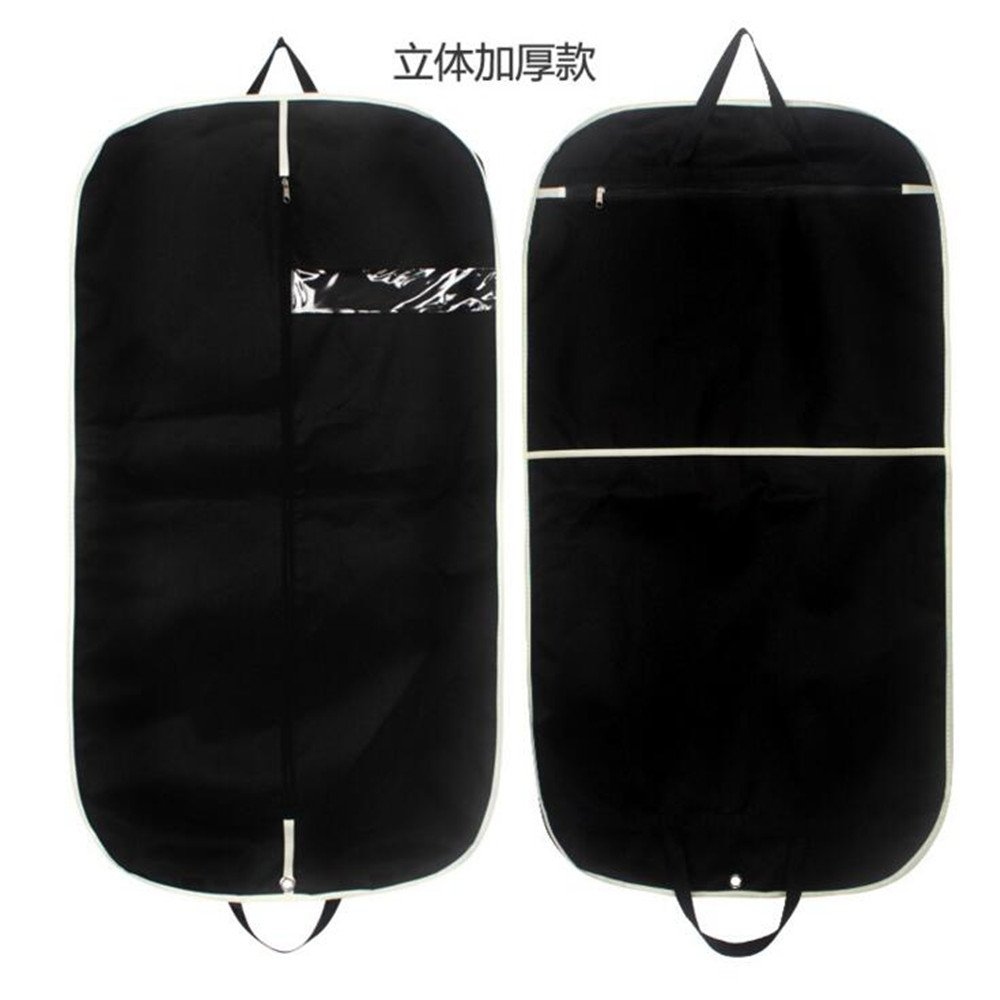 Bags for Travel Gusseted Suit Bag with Clear Zipper Pocket/Shoe Bag