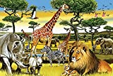 Cobble Hill African Plains 36 Piece African Animals 36 Piece Children's Puzzles