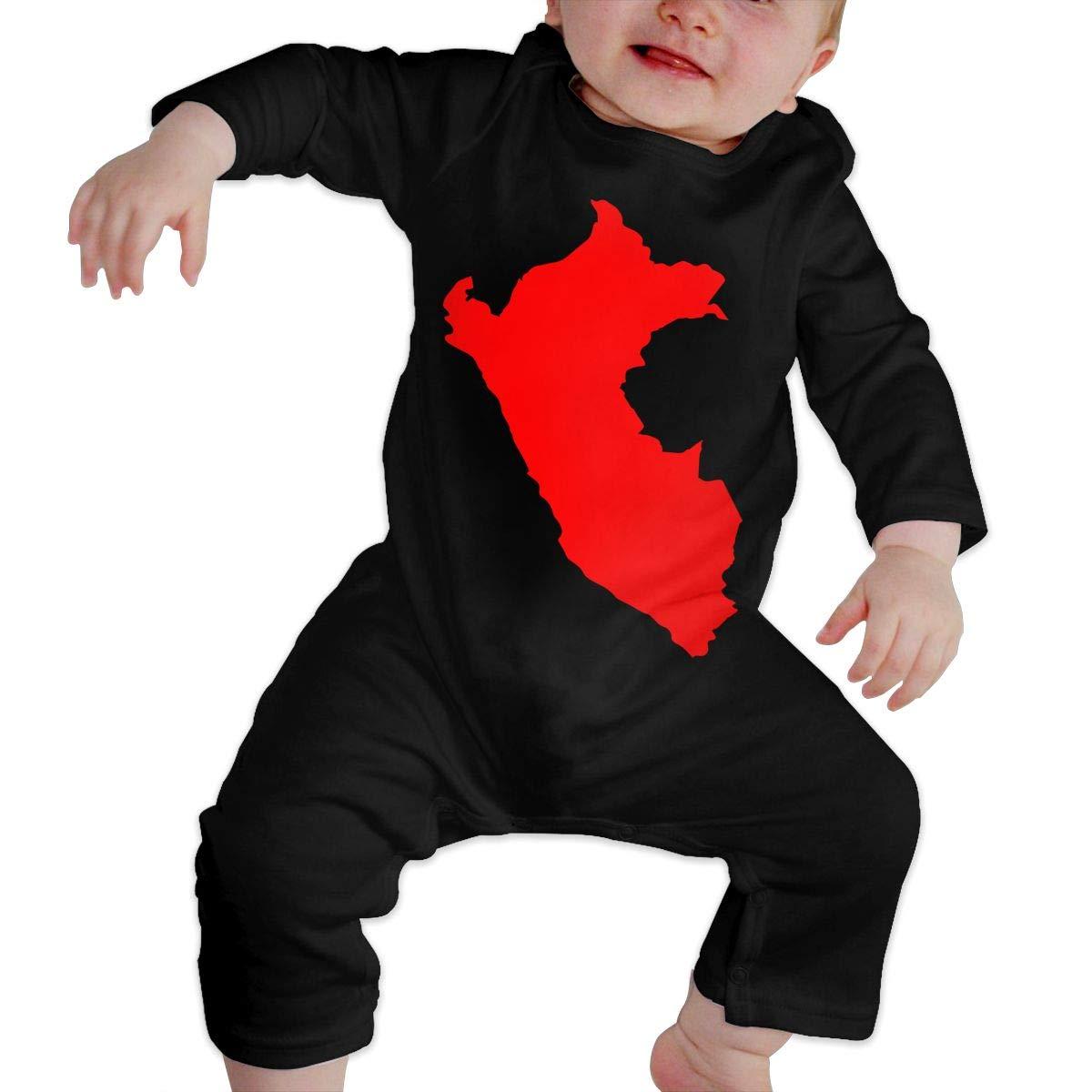 Baby Boy Jumpsuit Peru Map Toddler Jumpsuit