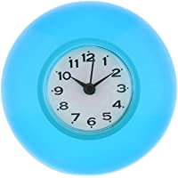 KESOTO Reloj de Baño Impermeable con Ventosa