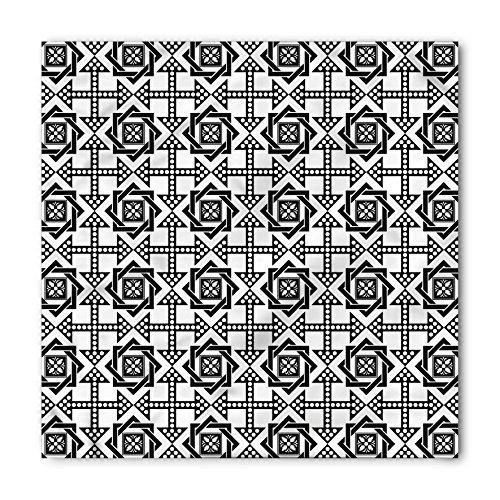 - Ambesonne Unisex Bandana, Black and White Celtic Star, Black White
