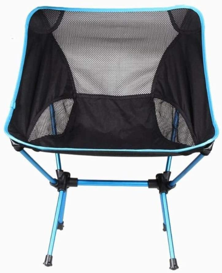 Lightweight Folding Beach Chair Folding chair Outdoor Portable Camping Chair For Hiking Fishing Picnic Barbecue Vocation Casual Garden Chairs,Blue Orange