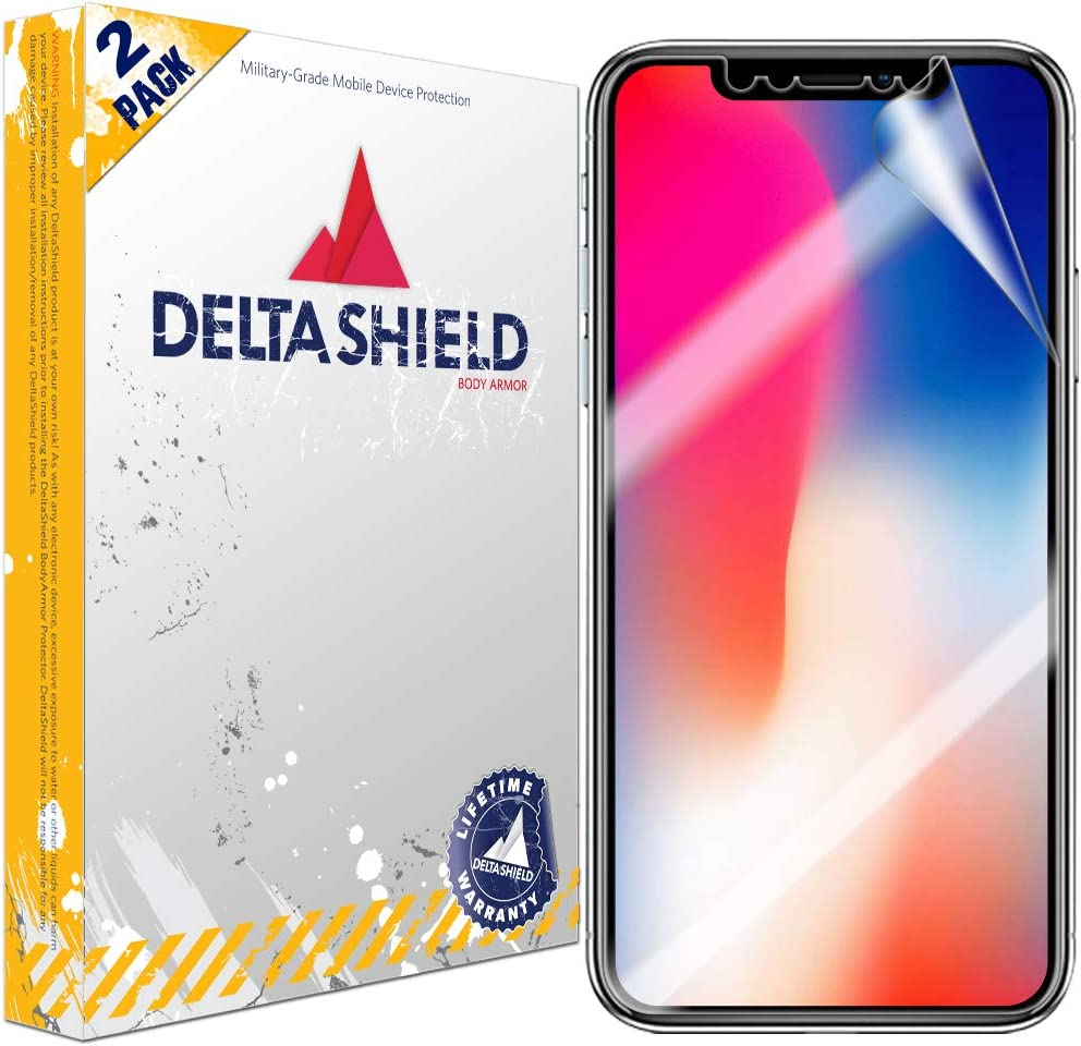Clear Tempered Ballistic Glass HD and Transparent Shatter-Proof Shield 6.7 inch 3-Pack DeltaShield Glass Screen Protector Compatible with Apple iPhone 12 Pro Max 99/% Touch Accuracy
