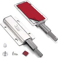 Kastmagneet Drukvergrendeling Jiayi 2 Stuks Druk om deurvergrendelingen voor keukenkast te openen Magnetische…