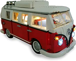 Brick Loot Deluxe VW Camper Lighting Kit for Lego Set # 10220 (VW Camper not Included)