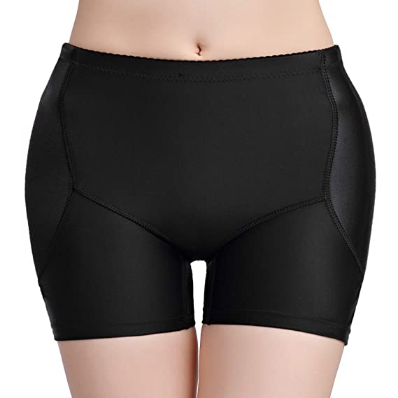 c19010ca01 HanFashion Damen Miederpants Gepolstert Po Push Up Butt Lifter Miederhose  Shapewear (XS