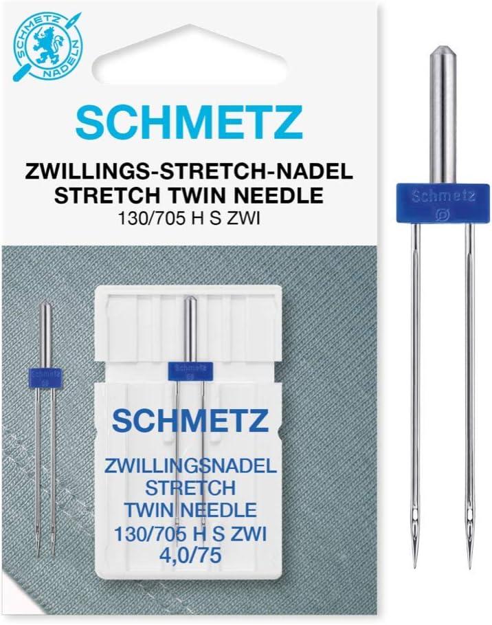 Schmetz Aguja de máquina de coser elástica 4.0 X 75