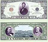 us 1000 bill - Set of 1000 - US Civil War Novelty Money Bill