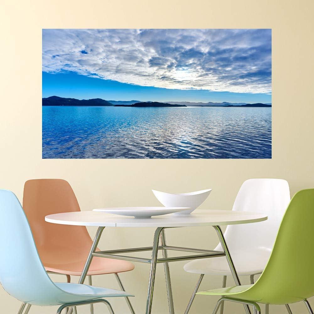 Amazon 特大mu3アクセント壁紙 空と海 Ph2110 雲 写真 ウォール