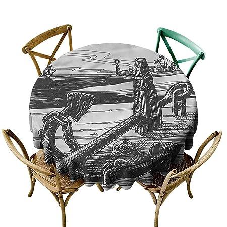 familytaste, Mantel Redondo de Picnic con diseño de Tatuaje de ...