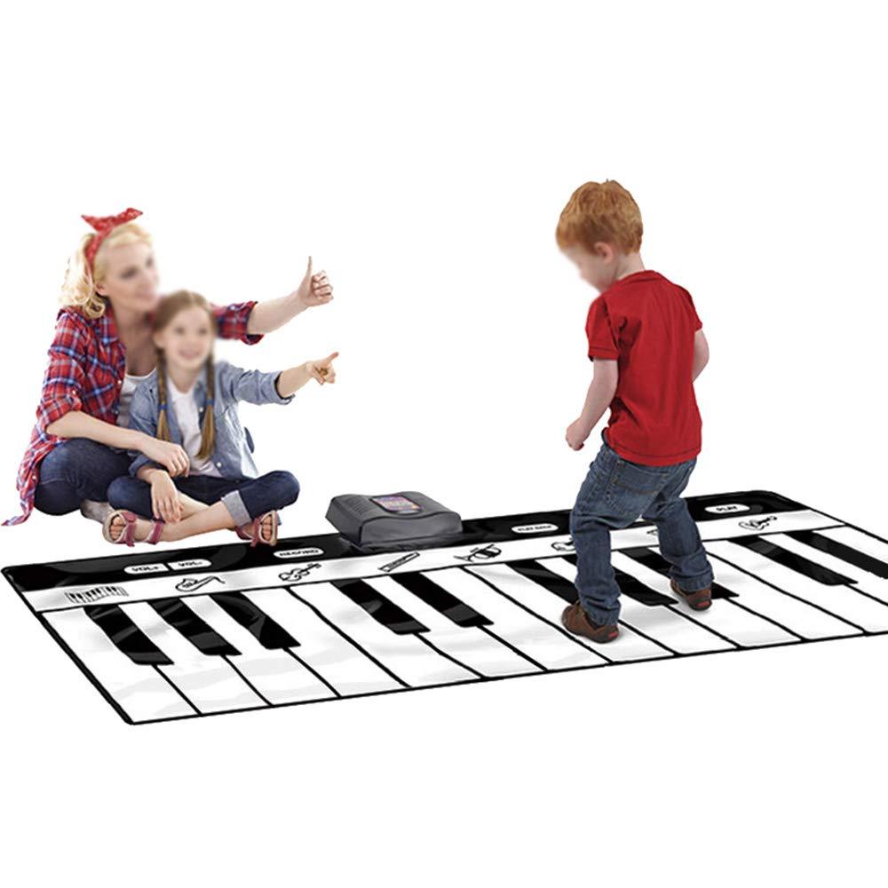 Music Touch Piano Pad Tanzmatte Tragbares singendes Spielzeug Mit Aufnahme, 10 Musik Einstellbare Lautstärke