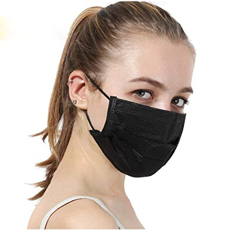 filter 1 Disposable 60 Layer Masks Pcs Pynogeez Face Earloop 3
