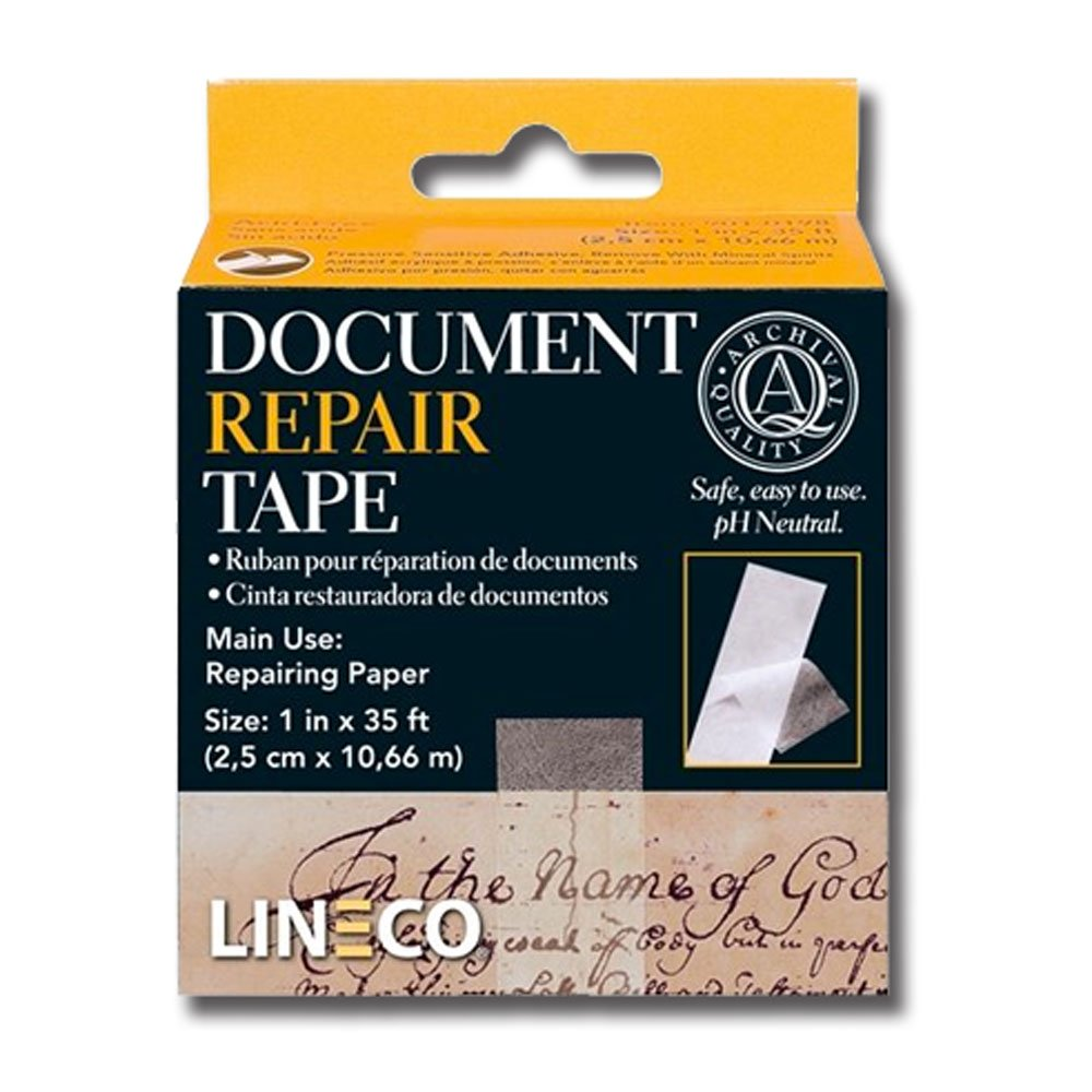Lineco Document Repair Tape 1 Inch By 35 Feet 2