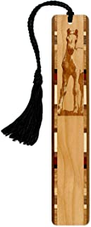 product image for Colt - Foal - Horse Engraved Wooden Bookmark with Tassel - Search B072YYL41V for Personalized Version