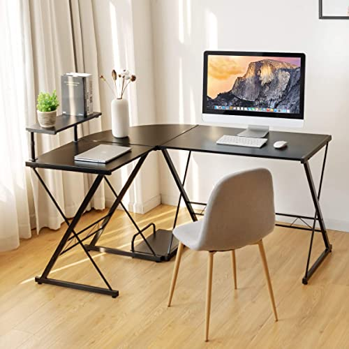 Tangkula L-Shaped Computer Desk